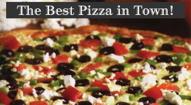 The Best Pizza In Town! | Large Freshly Baked Pizza